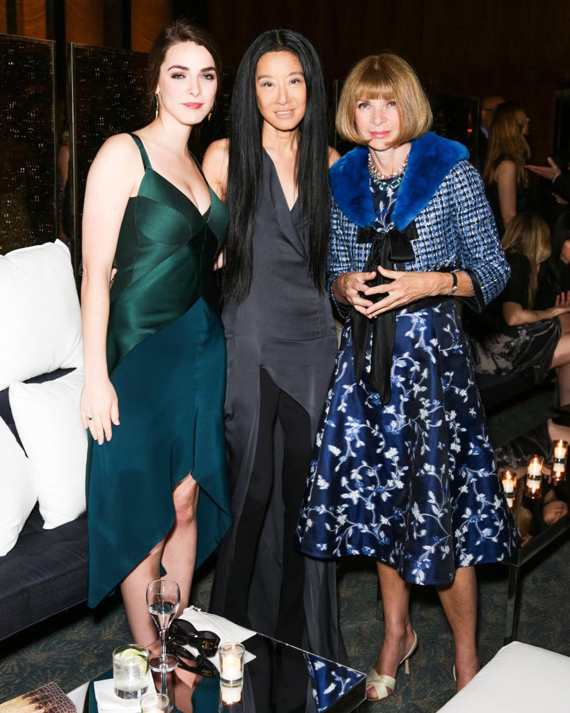 Bee Shaffer, Vera Wang, and Anna Wintour at the Lifetime Achievement Award Celebration in New York. Photo: Benjamin LozovskyBFAnyc.com