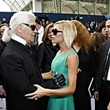 Victoria Beckham's Tribute to Karl Lagerfeld on Instagram