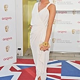 Millie Mackintosh wore white Lanvin.