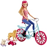 Barbie Spin 'N Ride Pups & Doll Playset