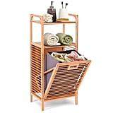 Giantex Tilt-Out Bamboo Laundry Hamper