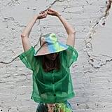 KkCo Studio Vacationer Hat in Earth Tie-Dye