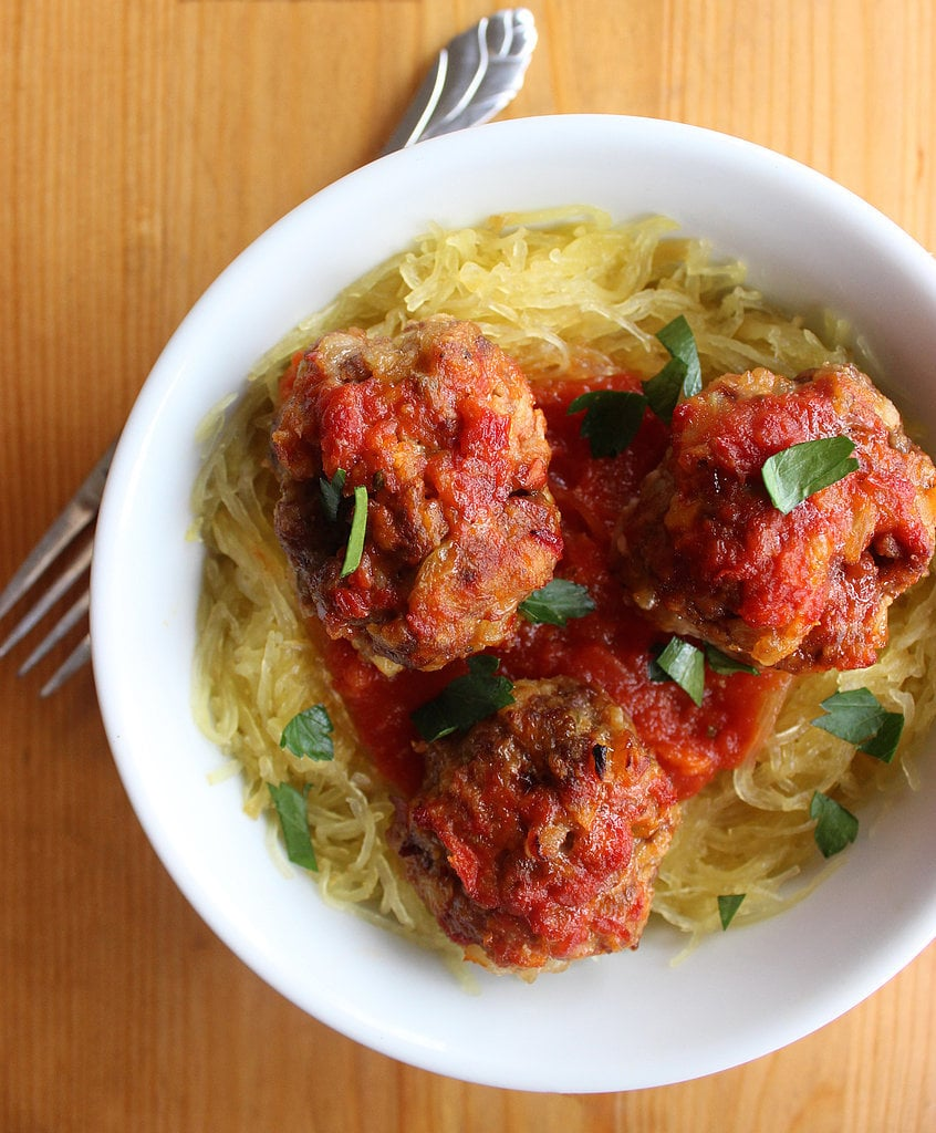Paleo Meatballs and Spaghetti Squash