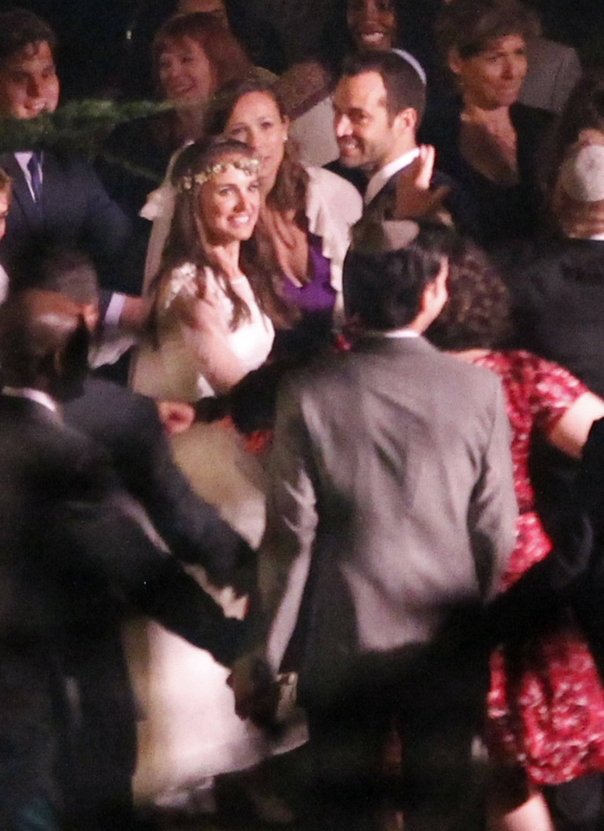 Natalie Portman and Benjamin Millepied held their August 2012 nuptials in Big Sur, CA, during the evening.