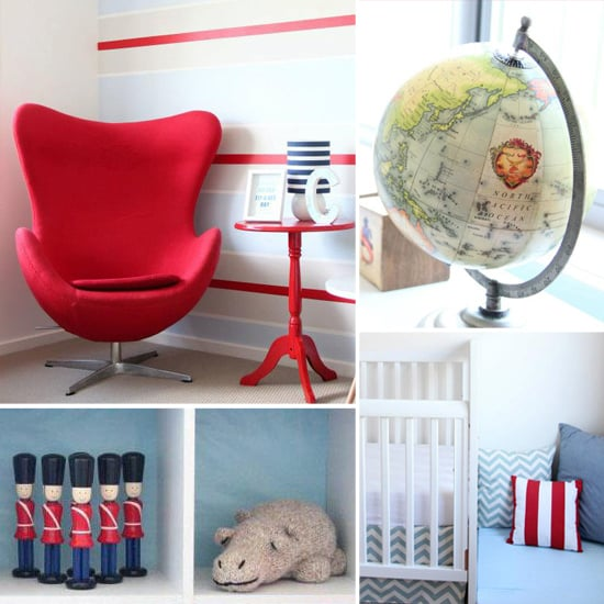 Charlie's Red, White, and Striped Nursery
