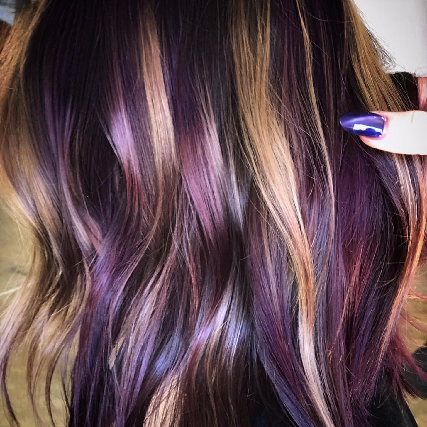 Two Tone Hair Colors For Fall