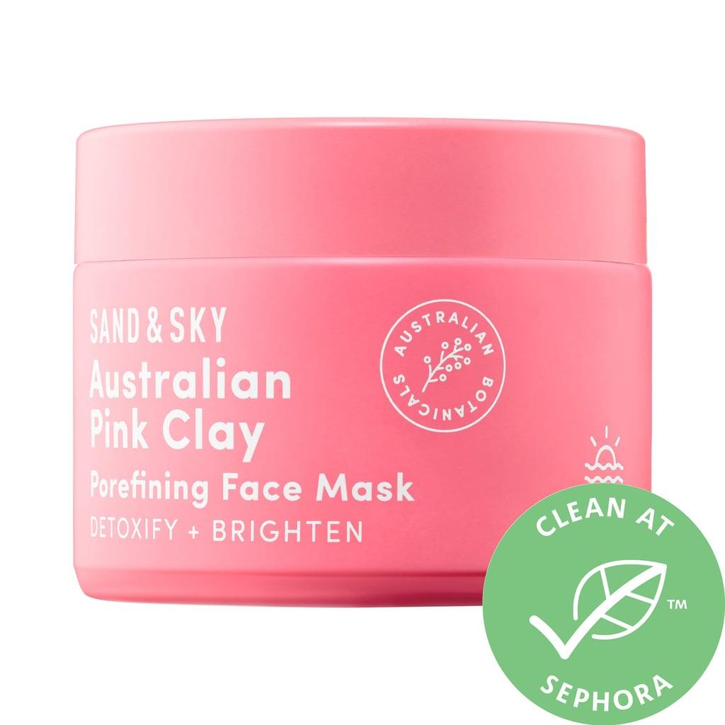 Sand & Sky Australian Pink Clay Porefining Face Mask