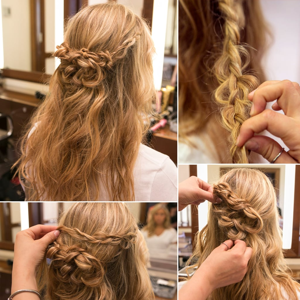Half Up Braided Hairstyles: Braided Half-Up Tutorial