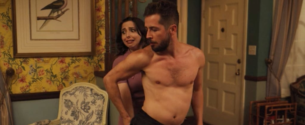 Tweets About Michael Angarano's Stripper Scene on Dollface
