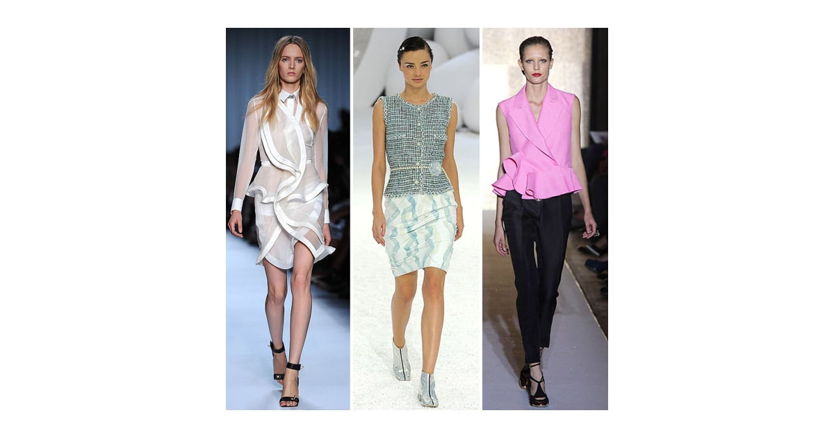 Five Trends from the Spring Summer 2012 Runways to Try Now ...