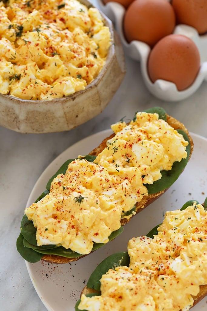 Healthy Egg Salad Boats