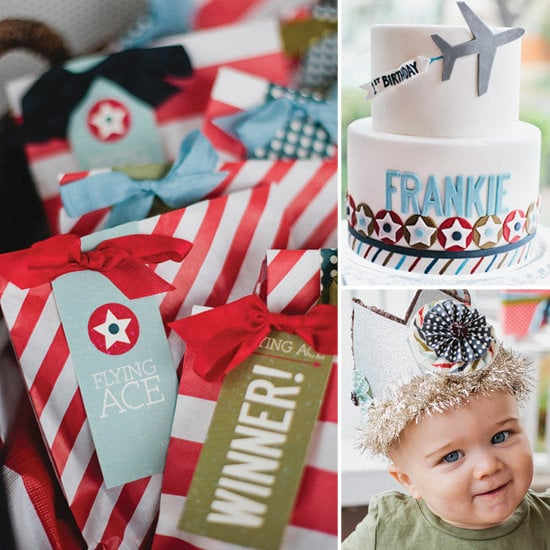 Vintage Airplane Birthday Bash Creative First Birthday Party