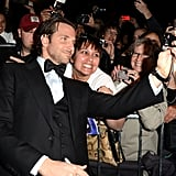 Even fans couldn't get enough of Bradley Cooper at the Palm Springs International Film Festival Awards Gala in January.