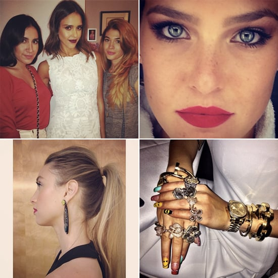 Celebrity Beauty Instagrams | Jan. 31, 2014