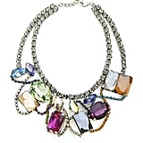 We adore the colorful mix of Swarovski crystals in this Frangos necklace ($398).