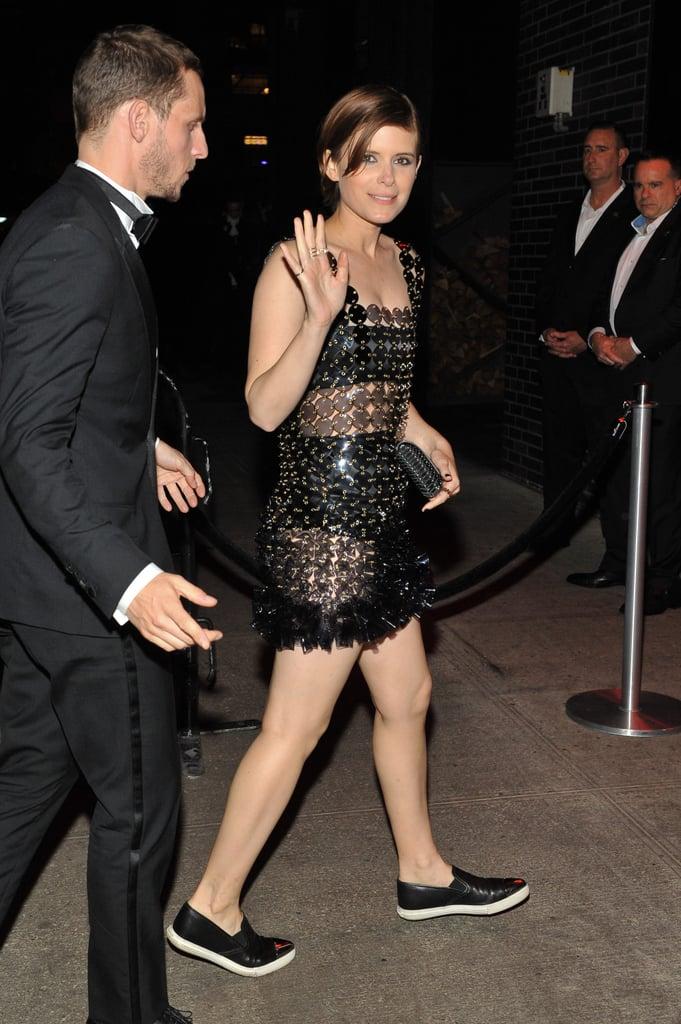 Kate Mara's Met Gala After Party Sneakers
