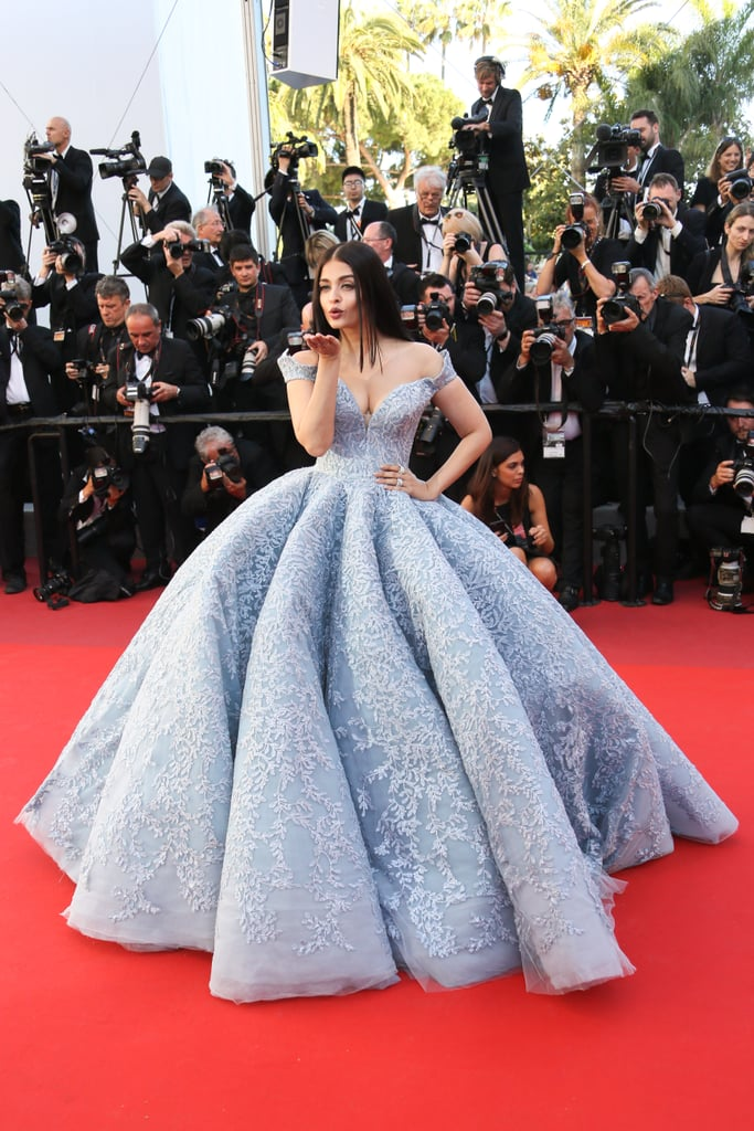 Aishwarya Rai Bachchan's Voluminous Michael Cinco Dress