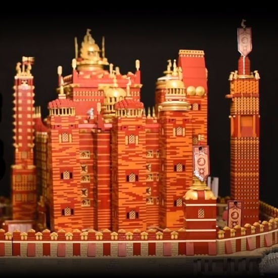 Lego Red Keep From Game of Thrones
