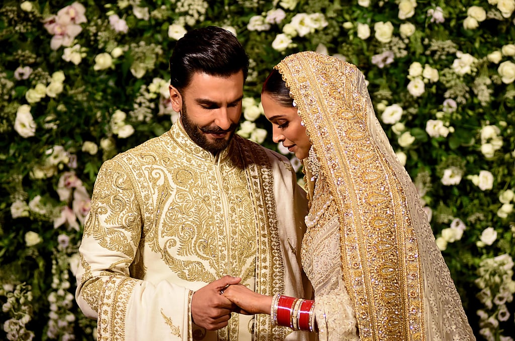 Deepika Padukone's Wedding Dress | POPSUGAR Fashion UK ...