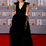Charli XCX at the 2020 BRIT Awards in London