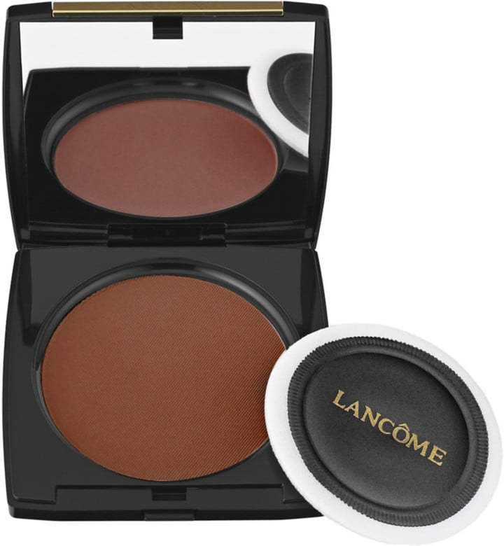 Lancome Dual Finish Multi-Tasking Powder Foundation ($40) comes in 35 shades.