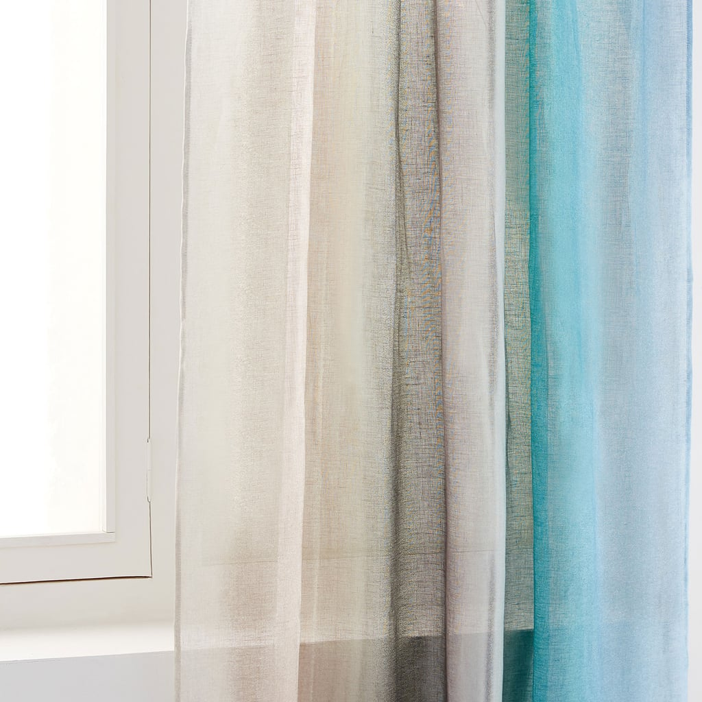 Zara Home Multi-Coloured Paisley Print Linen Curtain, $139