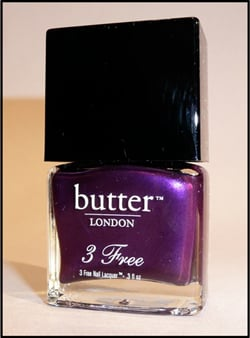 Catwalk Trend Purple Nail Varnish Like Butter London HRH Nail Polish Review