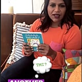 MIndy Talking About Katherine's Favorite Books on Instagram Stories