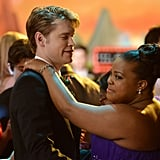 Chord Overstreet and Amber Riley in Glee.  Photo courtesy of Fox