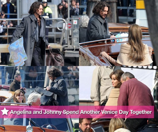 Photos: Angelina and Johnny Spend Another Venice Day Together