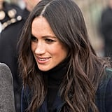 Meghan Markle With Wavy Hair
