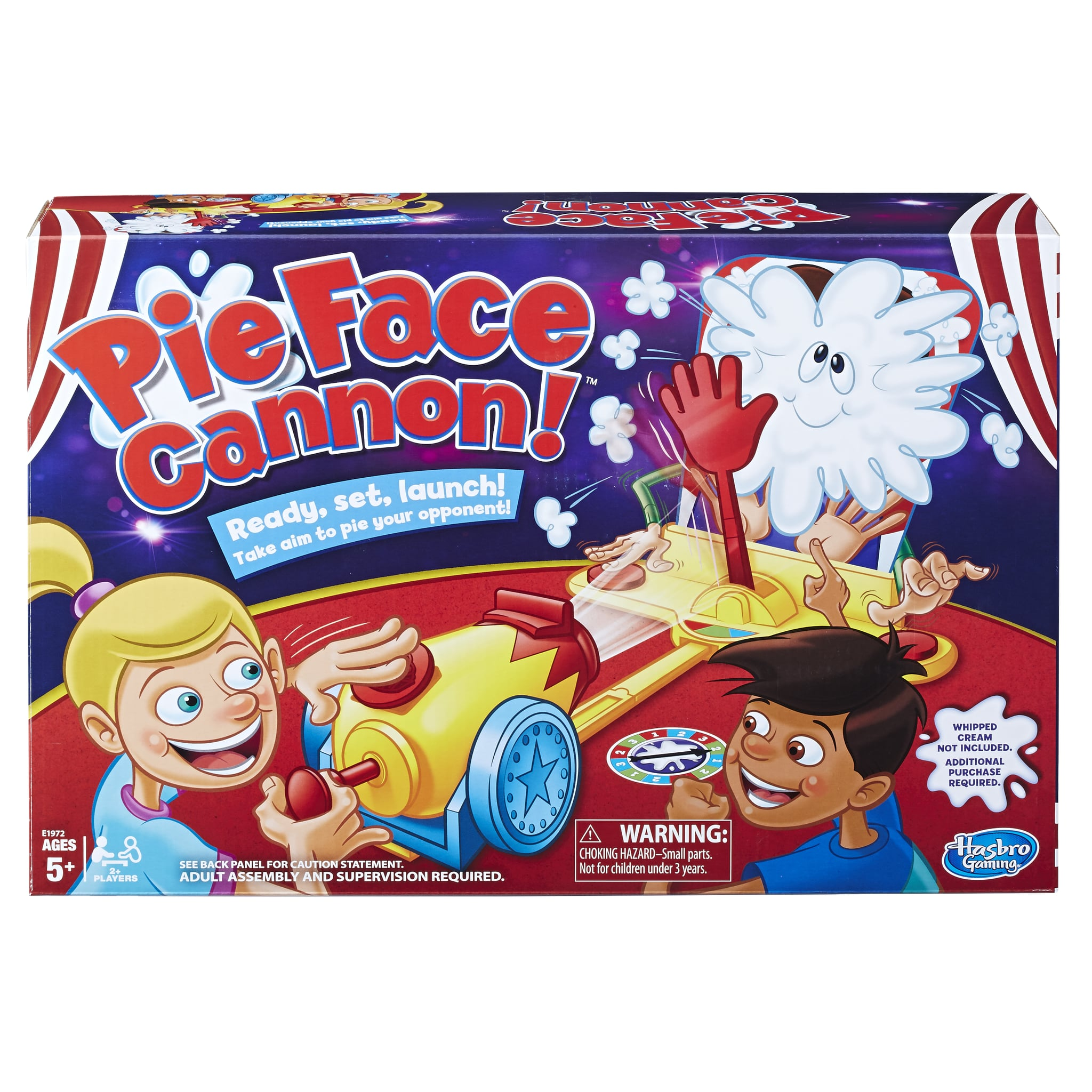 Hasbro pie face cannon game popsugar moms it the perfect holiday gift in the meantime check out our favorite board games that would be perfect for your next family game night hasbro pie face solutioingenieria Choice Image