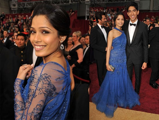 Photos of Freida Pinto and Dev Patel at the 2009 Oscars