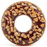 Nutty Chocolate Donut Inflatable Tube