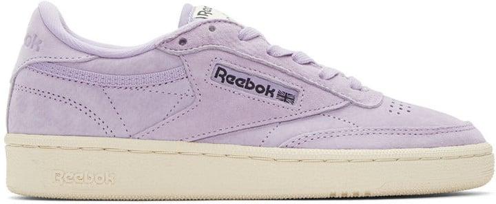 Reebok Classics Purple Club C 85 Pastels Sneakers