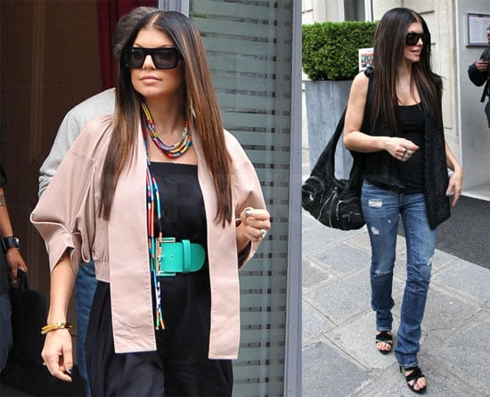 Photos of Fergie in Paris