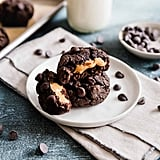 Peanut-Butter-Stuffed Chocolate Bean Cookies