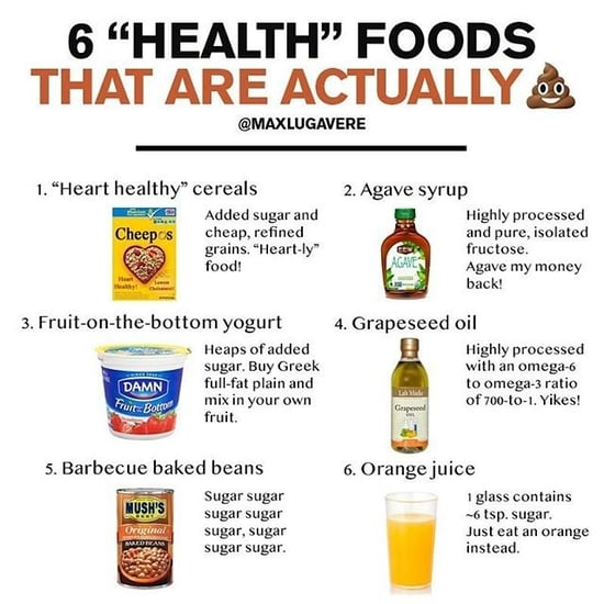 Are juice cleanses healthy popsugar fitness foods to avoid at the grocery store malvernweather Choice Image