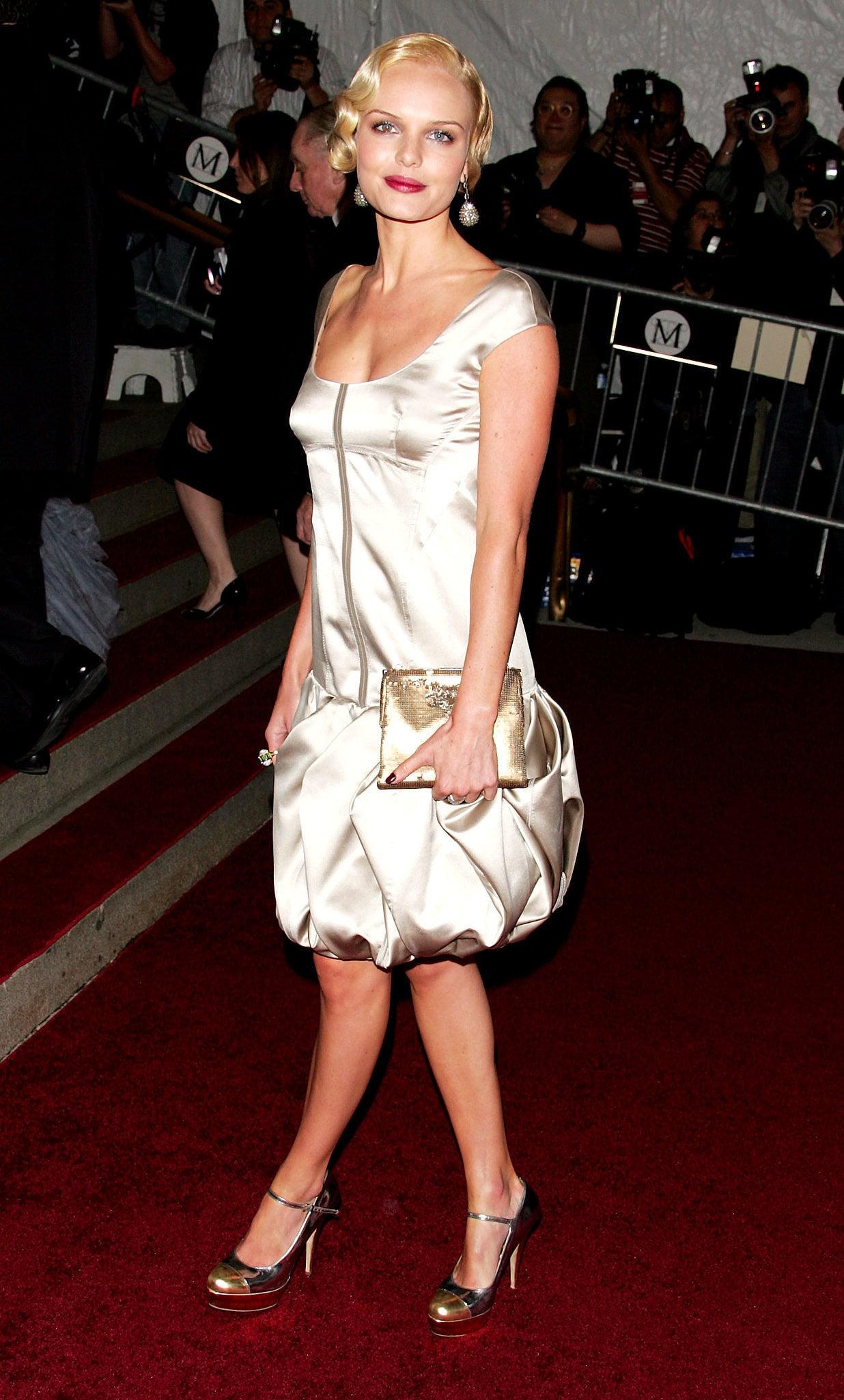 Kate Bosworth in Prada at the 2007 Met Gala