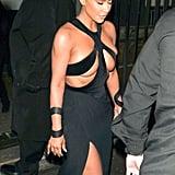 Kim Kardashian Vintage Thierry Mugler Gown 2019