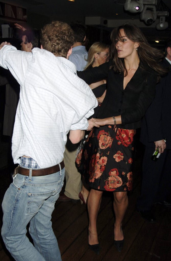 Kate and Guy Pelly at a Wimbledon Party in London in June 2006