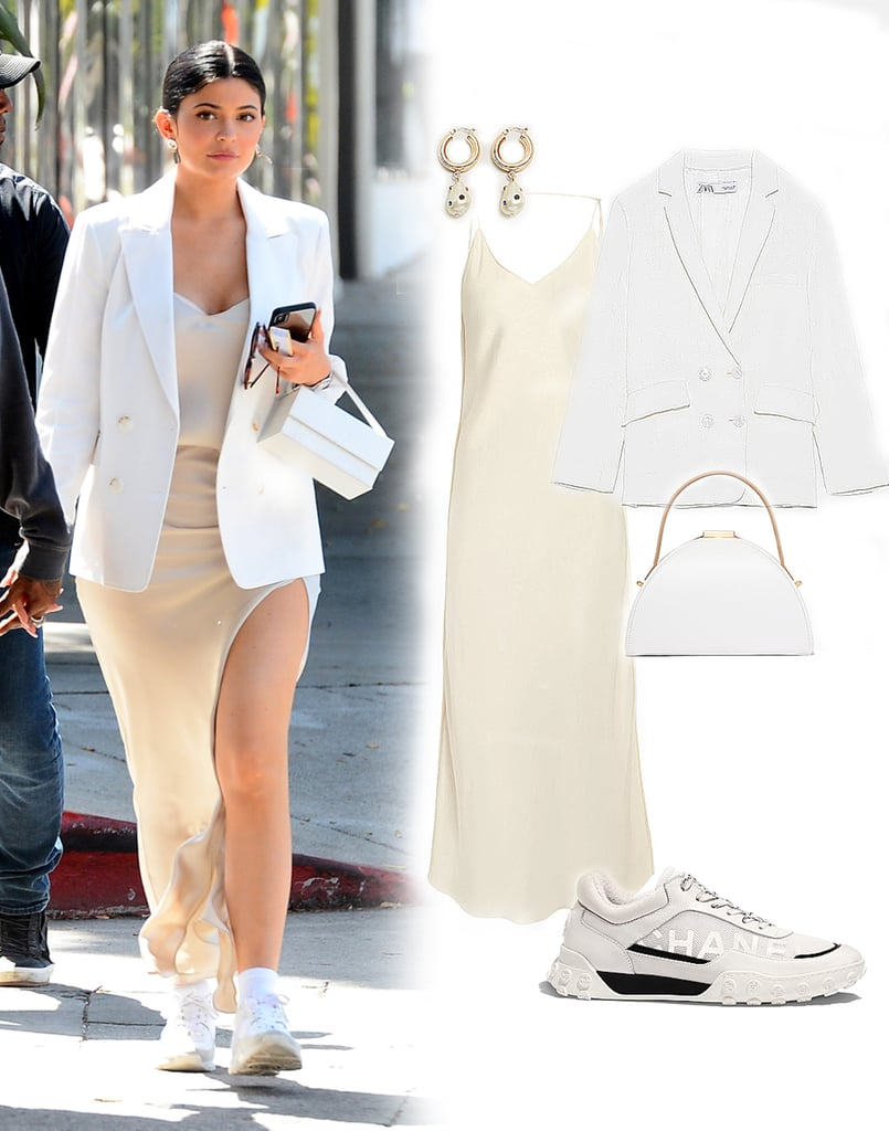 I Want to Be Wearing That: Kylie Jenner's Slip Dress and Sneakers