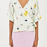 Topshop Boutique Marble Bloom Top