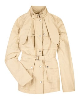 Mulberry Canvas Jacket