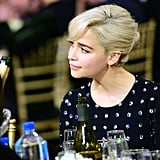 Emilia Clarke at the 2018 Critics' Choice Awards