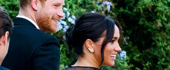 Prince Harry and Meghan Markle at Misha Nonoo's Wedding