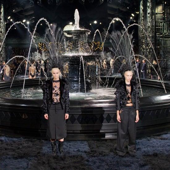 Louis Vuitton Spring 2014: Marc Jacobs Fades to Black