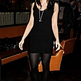 Daisy Lowe looks beautiful in an LBD.
