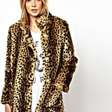 Channel Kate Moss's signature rocker-chic style with this ASOS Longline Animal Fur Coat ($142).