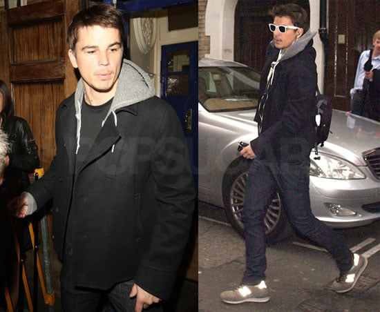 Photos of Josh Hartnett Leaving a Performance of Rain Man in London
